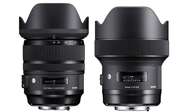 Sigma 24-70mm F2.8 DG OS HSM Art y 14mm F1.8 DG HSM Art, precio y disponibilidad de las nuevas ópticas para Sigma, Canon y Nikon