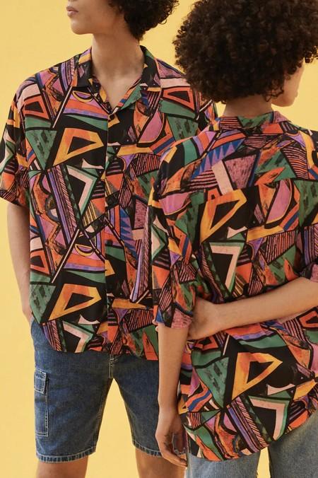 Camisas Manga Corta Estampadas 06