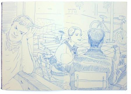 Los diarios de viaje ilustrados de Kevin Lucbert