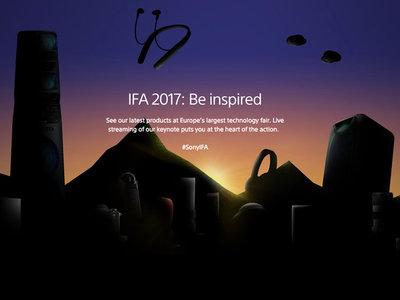 Sony IFA 2017: presentación oficial en directo