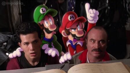 La película de Super Mario de los 90 reinventada en imágenes con dibujos animados al estilo ¿Quién engañó a Roger Rabbit?