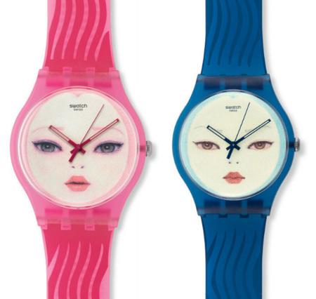 Nuevos relojes Swatch diseñados por Hideaki Kawashima