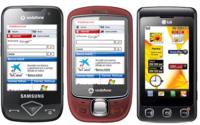 Novedades Vodafone Junio: Samsung Blade, Vodafone Indie y LG KP502
