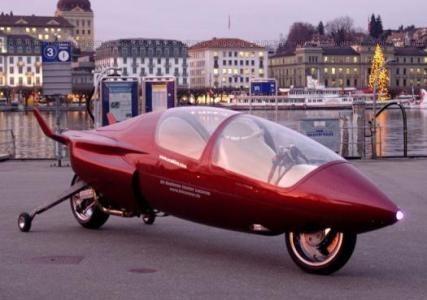 """Acabion GTBO, una moto que """"vuela"""""""
