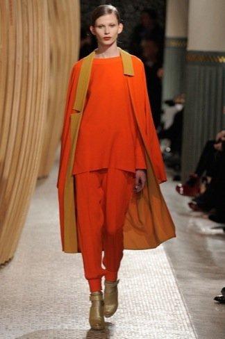 Hermès Otoño-Invierno 2011/2012 naranja