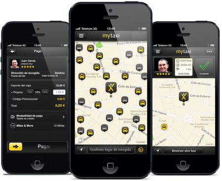 Aplicación móvil MyTaxi
