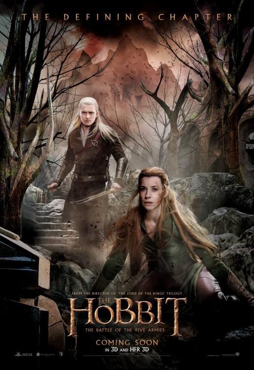 Foto de 'El hobbit: La batalla de los cinco ejércitos', carteles (28/29)