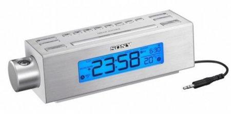Sony C717PJ, un despertador con proyector de la hora