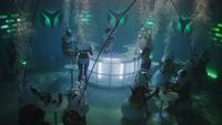Un bar en la piscina, literalmente