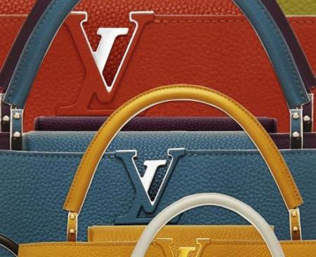 Louis Vuitton homenajea a la capital francesa con el bolso Capucines
