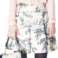 falda print kling