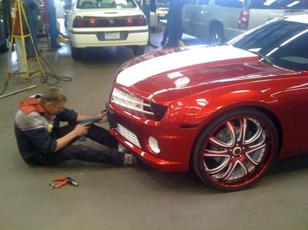 Bricopasión con un Chevrolet Camaro