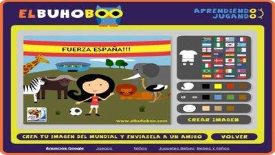 Celebrando el mundial con juegos de Buho Boo