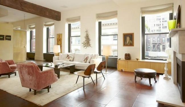 El salón de Claire Danes