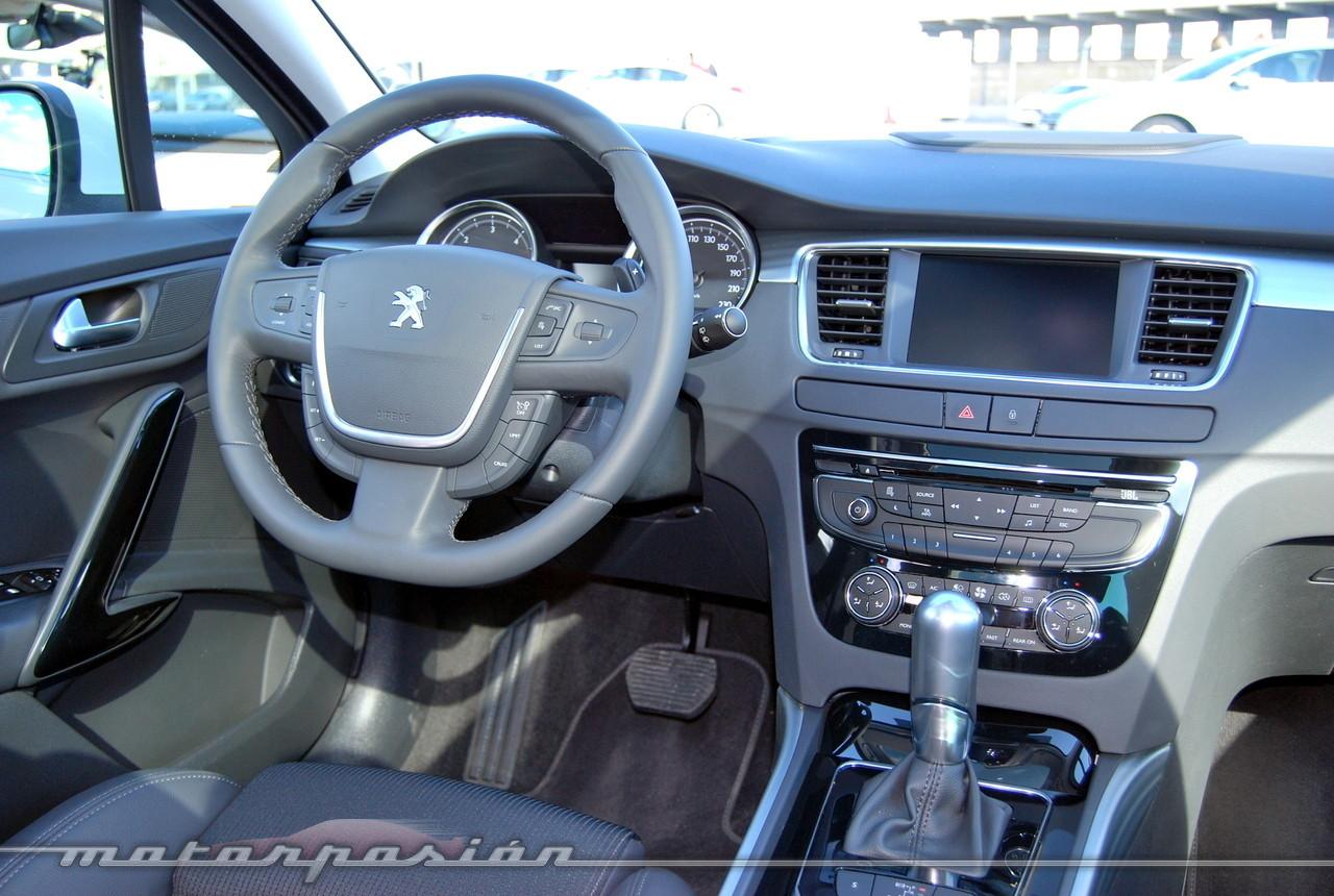 Foto de Peugeot 508 y 508 SW (presentación) (19/118)
