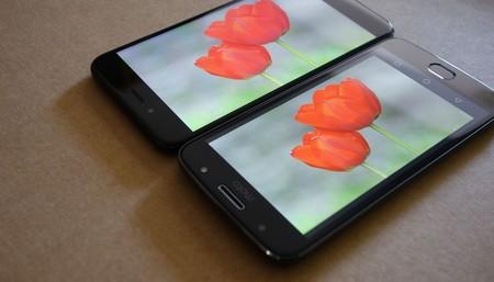Pantalla Moto G5s Vs Xiaomi Mi A1