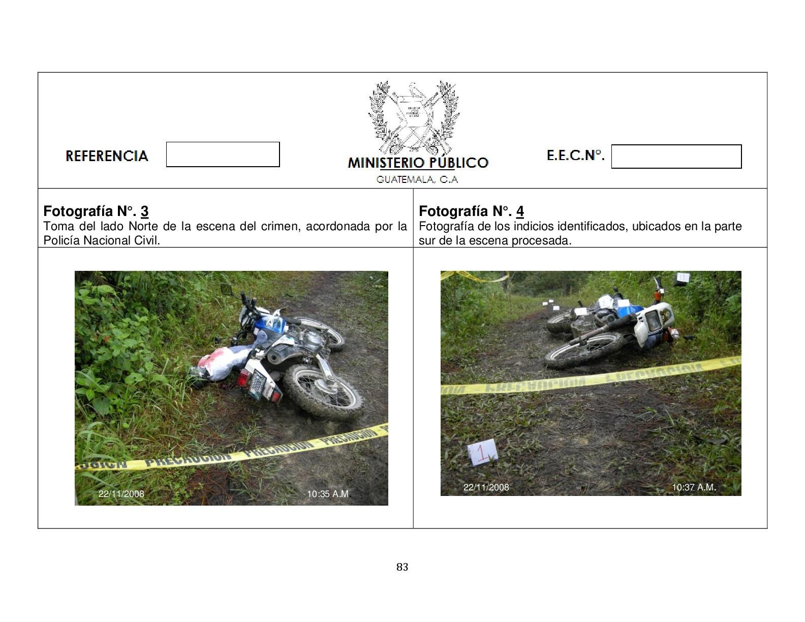Foto de Simulación balacera contra motorista (1/12)