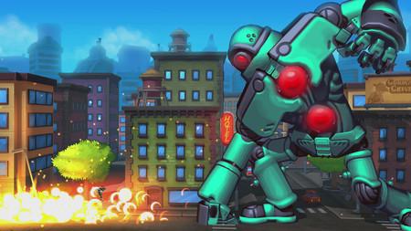 Las batallas contra robots gigantes de Mechstermination Force se preparan para dar el salto a PC la semana que viene