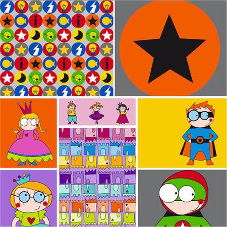 Super héroes y super princesas en Micumacu