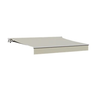 Toldo Calima manual con tela beige de 2.95x2 m