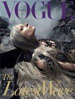Kristen McMenamy y el vertido de petróleo en el golfo de México en Vogue Italia