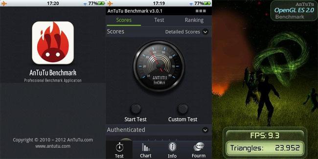AnTuTu Benchmark 3