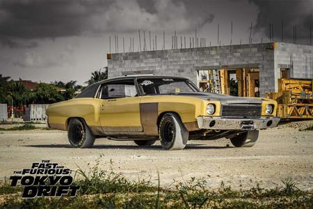 ¡Atención fans! El Chevrolet Montecarlo 1971 de Fast & Furious: Tokyo Drift está en venta