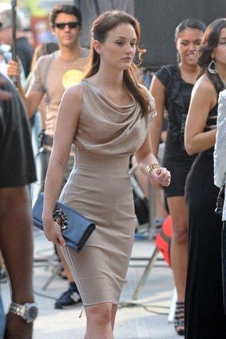 Looks de otoño en Gossip Girl, Leighton Meester look
