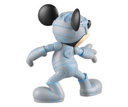 Mickey Mouse versión Tron
