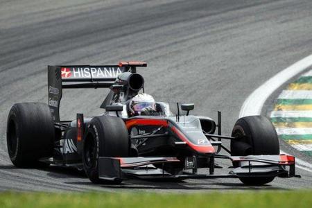Hispania Racing F1 Team competirá en 2011 con una evolución del monoplaza de 2010