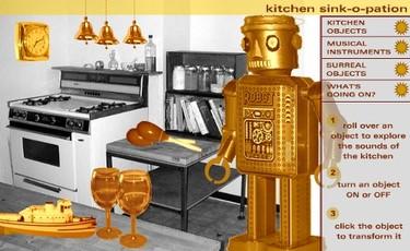 Una cocina muy musical