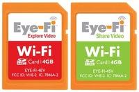 Eye-Fi ahora compatibles con video