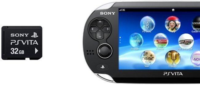 PS Vita tarjeta de memoria