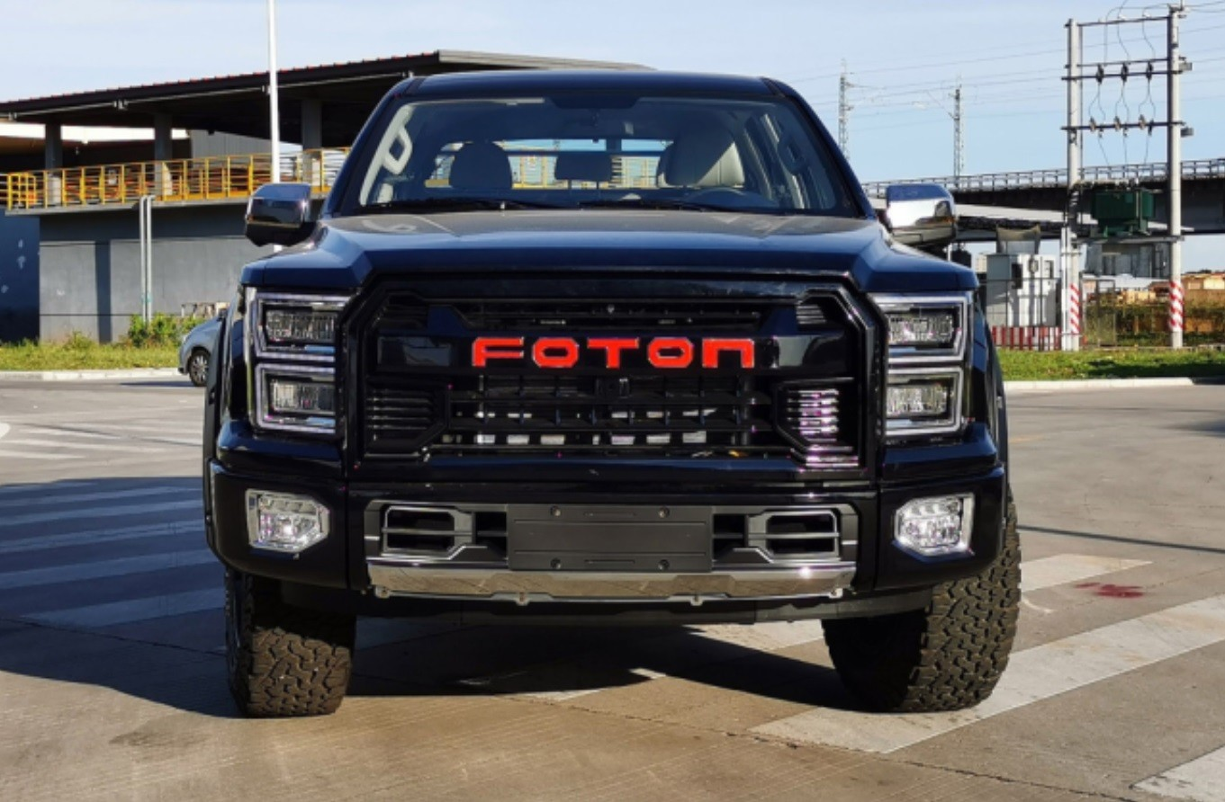 Copias Chinas Nivel Foton La Pick Up Que Se Parece Descaradamente A La Ford F 150 Raptor