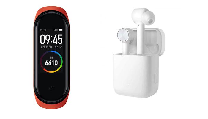 Auriculares Airdots Pro y pulsera de actividad Xiaomi Mi Band 4