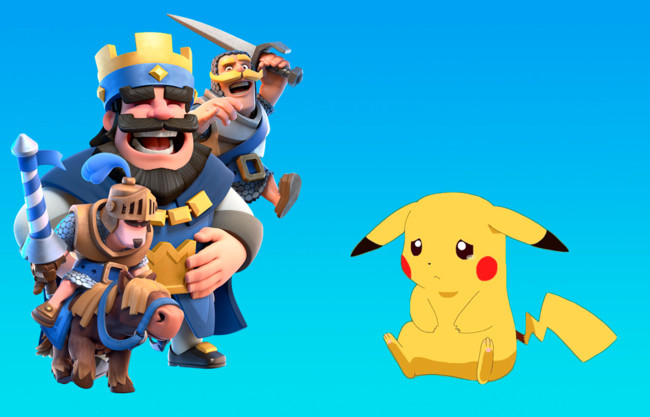Clash royale Pokemon go ingresos
