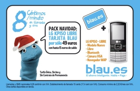 Blau reduce la tarifa entre sus clientes