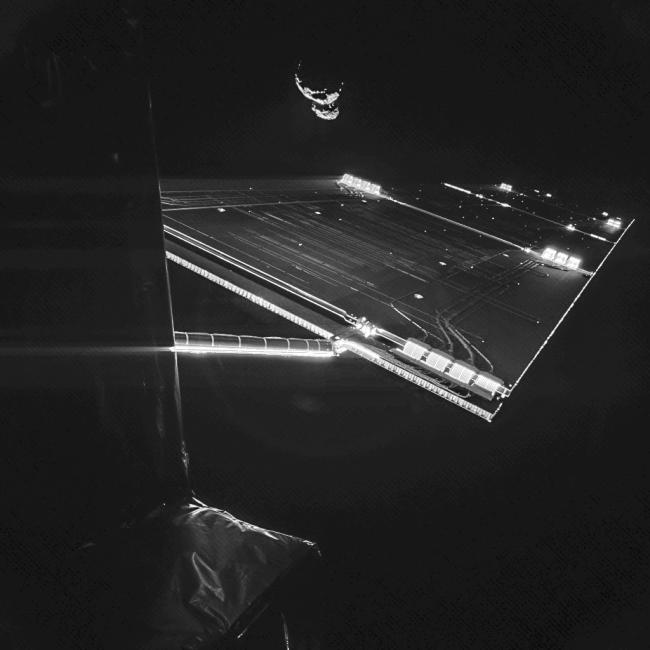 Rosetta sucumbe a los selfies y se hace uno con el cometa al que explorará