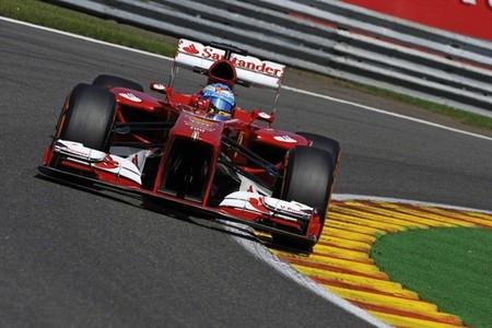 Fernando Alonso consigue un magnífico pódium en Bélgica
