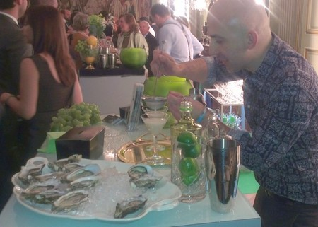 Raúl Fernández de VittoriaBar en el Gin Connoiseur Program de G