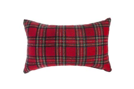 Muymucho Textil Cojin Cuadro Escoces Franela 30x50cm 12 99eur Rojo