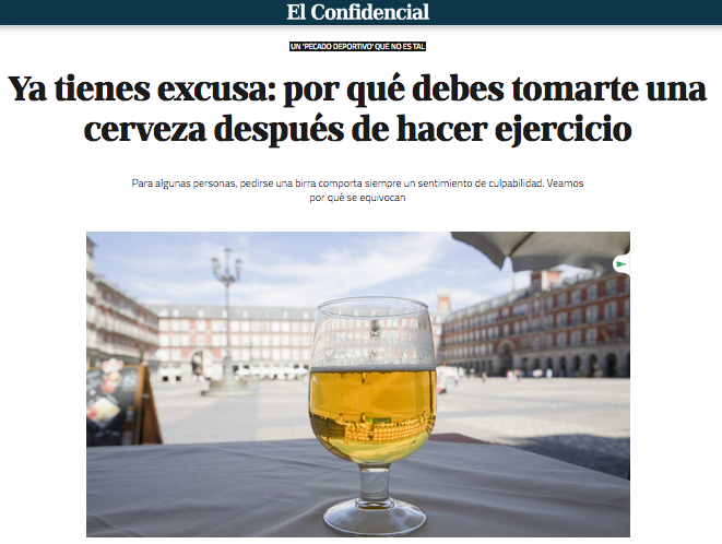 Foto de Cerveza y Deporte (1/6)