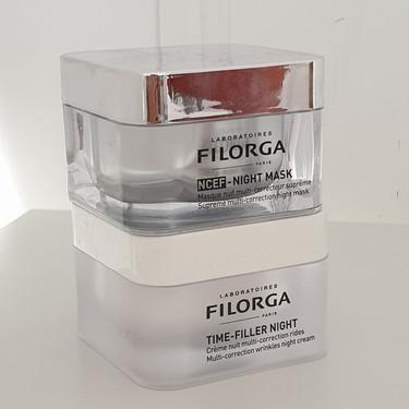 Cuidando mi piel en la noche con Filorga: probamos Time Filler Night y Night Mask