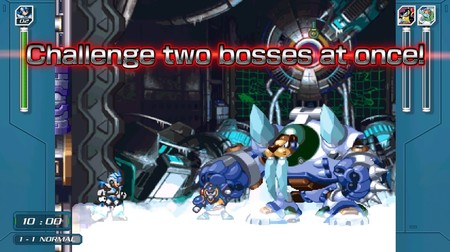Mega Man X Anniversary Collection X Challenge