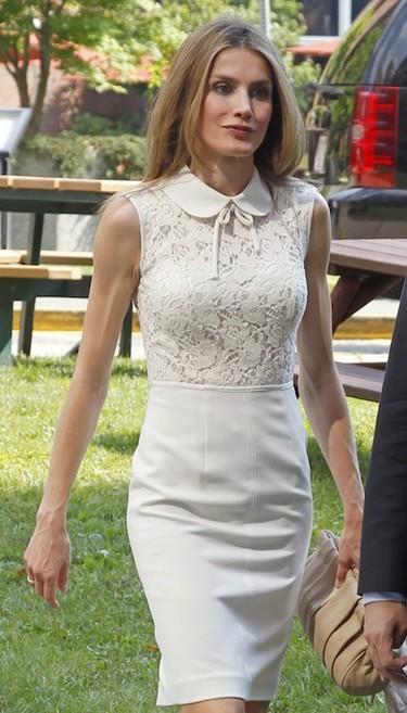 La princesa Letizia Ortiz y sus looks en Estados Unidos