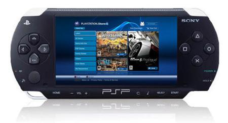 Sony PSP, con descarga de juegos y posibilidad de usar el mando de la PS3