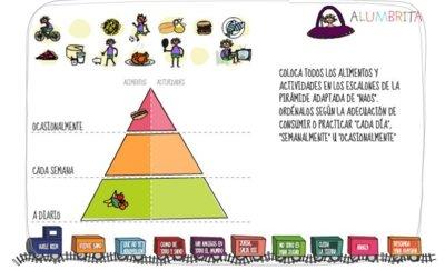 Mini- juegos de Alumbrita para aprender hábitos saludables