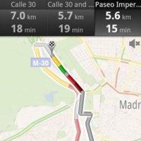 Google Maps ya nos chiva el estado del tráfico en España