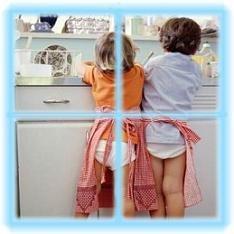Los niños deben ayudar en casa
