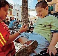 Los niños de un pueblo entero a dieta
